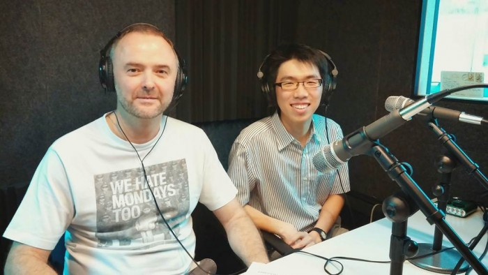 Vincent Wang- Radio Chinway May 2014