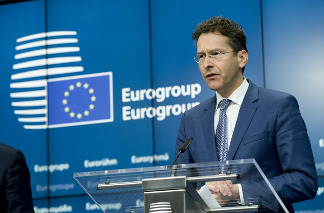 Mr Jeroen DIJSSELBLOEM, President of the Eurogroup. Source: European Council 2015