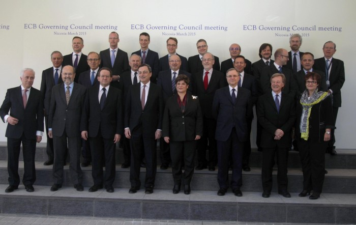 ECB Governing Council in Nicosia, Cyrus; Source: European Central Bank 2015