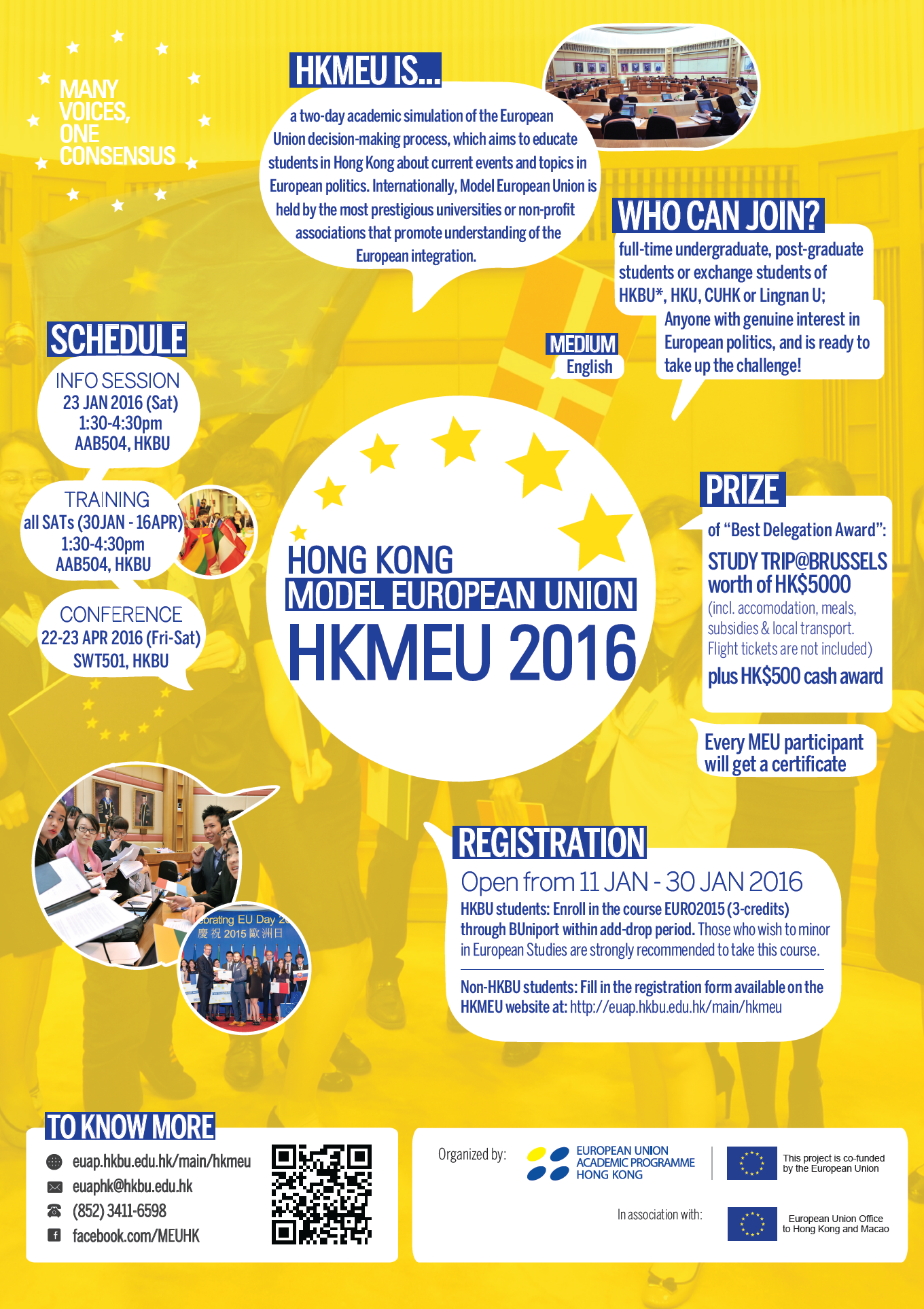 Hong Kong Model European Union 2016 Conference