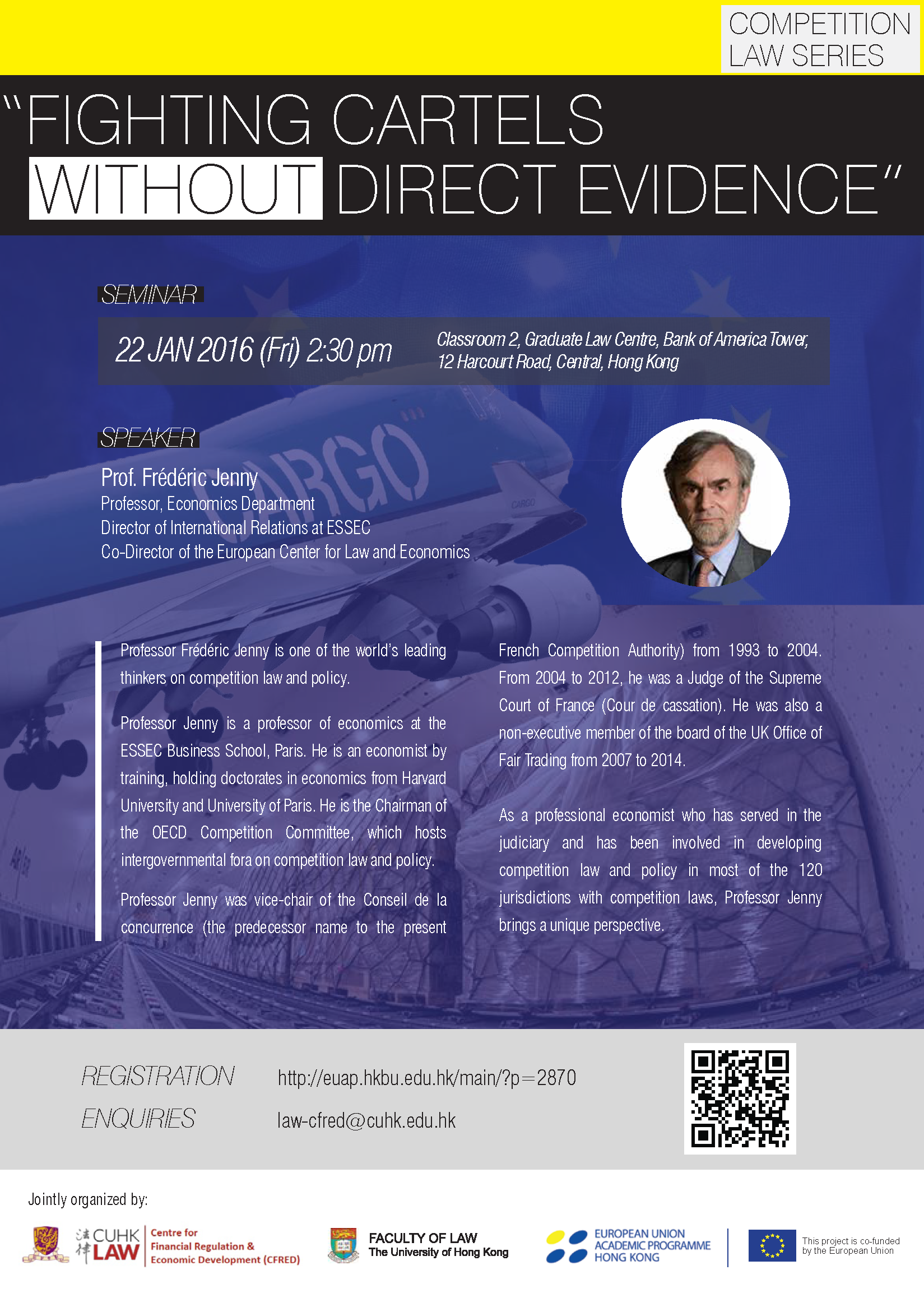 "Competition Law Series ""Fighting Cartels without Direct Evidence"""