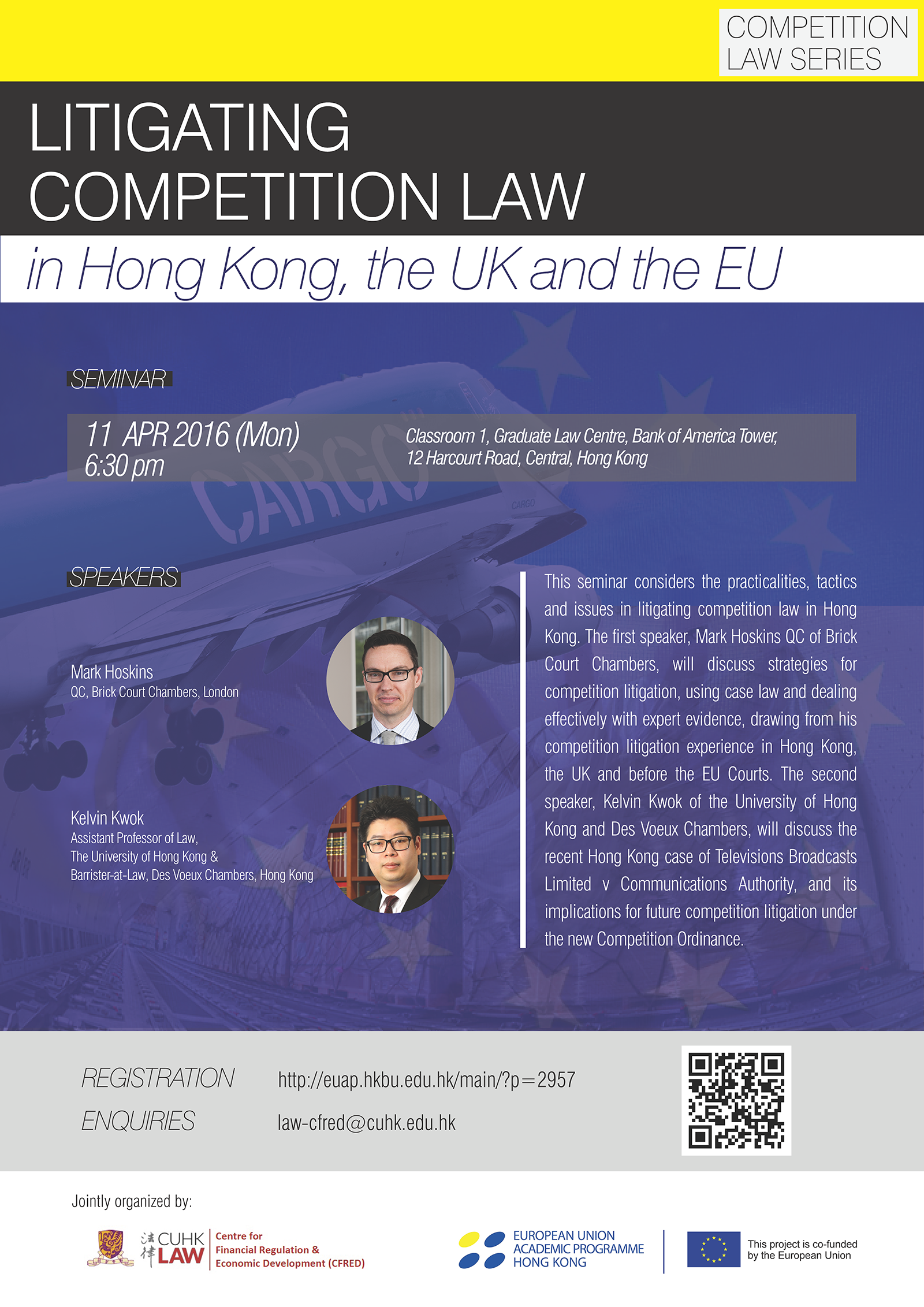 Competition Law Series: Litigating Competition Law in Hong Kong, the UK and the EU
