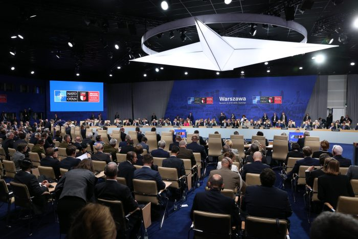 NATO summit in Warsaw, July 2016. Credit: Ministry of Foreign Affairs of Poland