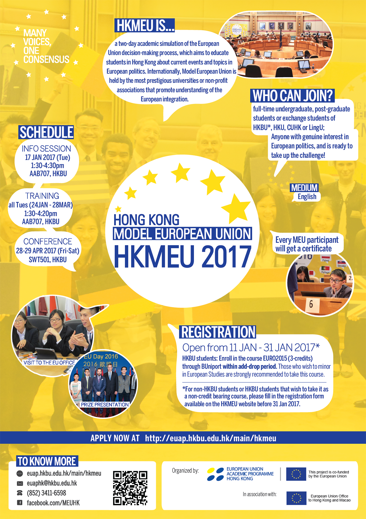 Hong Kong Model European Union 2017 Conference