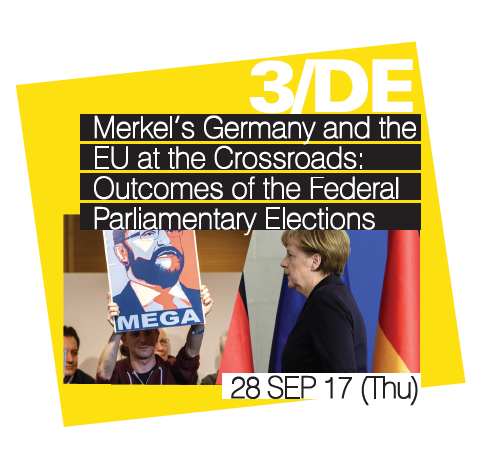 "[EU+ Series: Europe - A Year of Fateful Elections?] Seminar #3 ""Merkel's Germany and the EU at the Crossroads: Outcomes of the Federal Parliamentary Elections"""