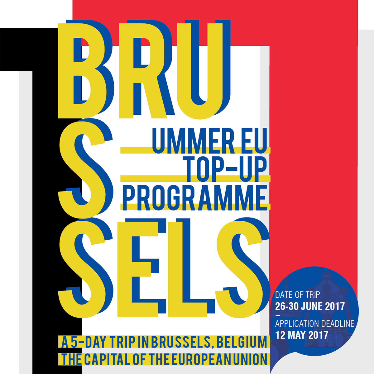 Summer EU Student Exchange: Top-up Programme Brussels 2017