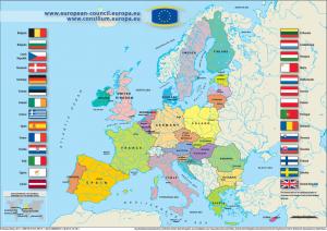 歐盟共有28個成員國,官方語言就多達24種,格言為「多元一體」(Unity in Diversity) 。Soucre: European Union