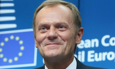 候任歐洲理事會主席圖斯克 (Donald Tusk)  ; Source: European Pressphoto Agency