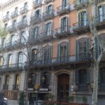 Institut Jaume Balmes - sends typical Barcelona buildings