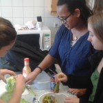 Nelson Mandela School cooking